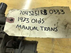 Carburetor 1973 Oldsmobile Manual Transmission