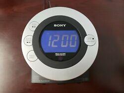 Sony ICF-CD3iP Dream Machine CD Player FM/AM Radio Alarm Clock - iPod Dock