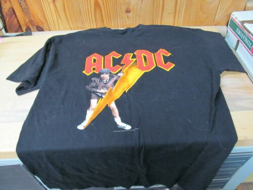 Vintage 2003 Rock Artist T-Shirt – AC/DC High Voltage XL