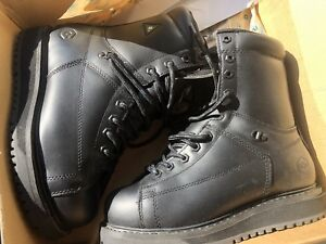 JB Goodhue Ironworker Plus Mens Black 7.5 width 3E Safety Boots