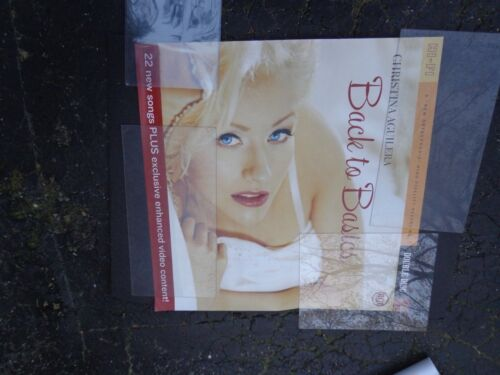 """DFGH          Christina Aguilera  POSTER promotional  -36x36"""" approx.JUMBO SEXY"""