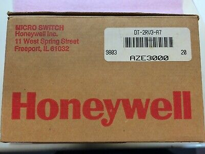 Dt-2rv3-a7 Honeywell Dpdt Micro Switch 1 Unit Factory New