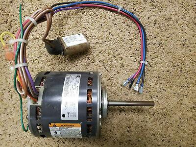 Furnace Blower Motor- Emerson 34 Hp 208-230v 3 Speed 1075 Rpm 48y Frame
