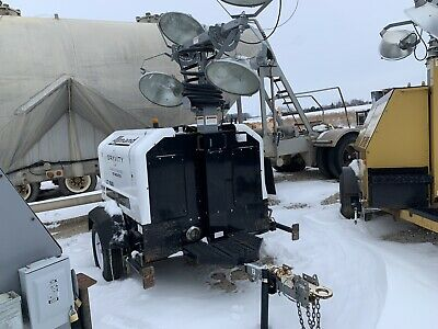 Allmand 20 Kilowatt Generator Light Tower Kubota Diesel Kw Portable