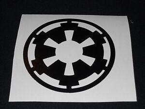star wars imperial logo decal. Black Bedroom Furniture Sets. Home Design Ideas