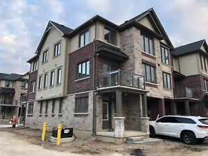 Brand new executive style townhouse Ancaster Glen for rent.