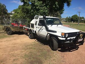 75 series landcruiser 1hz non turbo Lissner Charters Towers Area Preview