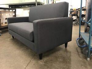 Fabric Loveseat Sofa