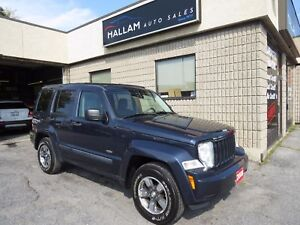 2008 Jeep Liberty Sport 4WD, Hitch Installed