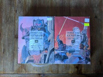Manga - Mobile Suit Gundam: The Origin Vol. 3 and 4