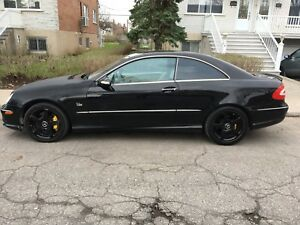2005 clk 500 coupe  - price negotiable