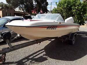 4.65mt Runabout Boat Crystal Brook Port Pirie City Preview