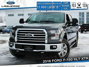 2016 Ford F-150 XLT XTR **SONAR*CAM*FREIN REMORQUE*3.5L*4X4**