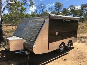Enclosed Motorbike Trailer/ Camper Clermont Isaac Area Preview