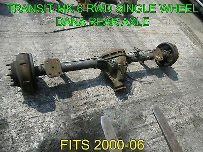 transit axle and springs