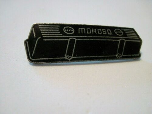 MOROSO VALVE COVERS  RACING,HOT ROD  VINTAGE HAT PIN,LAPEL PIN,TIE TAC