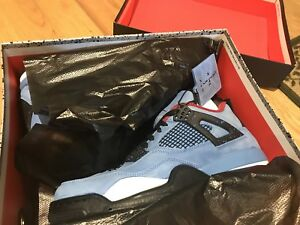 Nike Air Jordan 4 Travis Scott 'Cactus Jack' Size 10.5