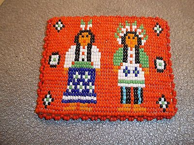 NATIVE AMERICAN BEADED COIN PURSE # 7