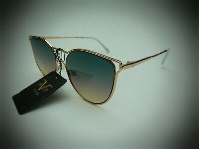 NEW Versace 1969 ITALIA CARMELLA gold  cat eye Sunglasses 19V69