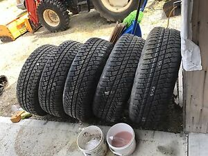 Jeep Wrangler jk 2013 rims and tires new