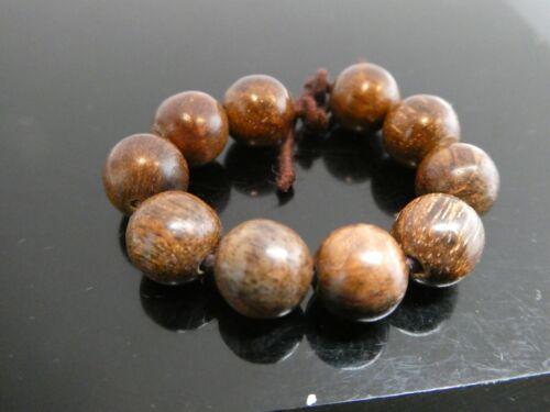 Genuine Agarwood Aloeswood Oud Malaysia Wood 8mm Loose AA Grade 10  Beads