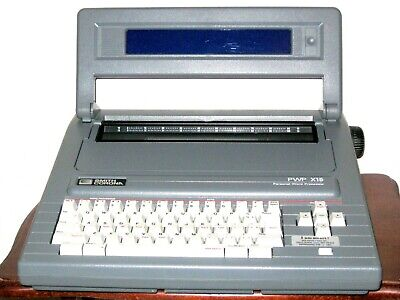 Smith Corona Portable Pwp X15 Word Processor Typewriter Model 5d With Extras