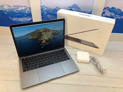 "Apple MacBook Pro Touch Bar 2018 13"" Laptop 256GB 8GB RAM Space Gray w/Box"
