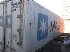 40' HC REEFERS. Refrigerated Containers. Storage Container