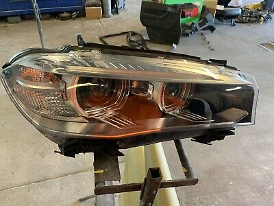 2014 2015 2016 2017 2018 BMW X5 Right Headlight Xenon LED OEM Complete