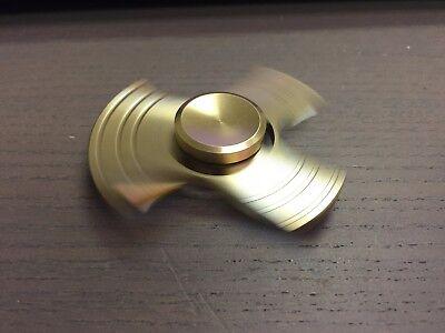 NEW Hand Spinner EDC Fidget Gold Torqbar Aluminum Focus ADHD Autism Finger Toy