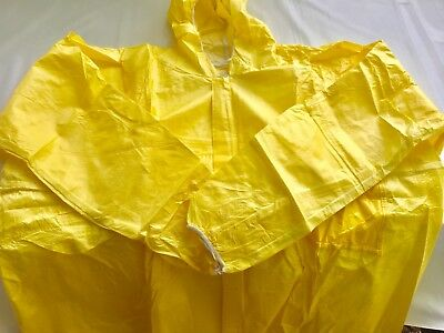 Coverall Painters Jumpsuit Size Large Enviroguard Yellow Microporous Fsncv5914