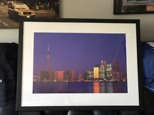 Framed Picture Toronto Skyline