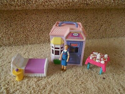 Sweet Streets Fisher Price Lot POST OFFICE