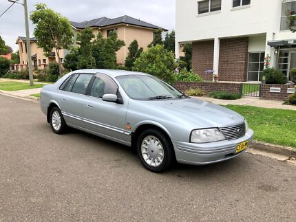 1999 Ford Fairlane Ghia VCT AU 4 Speed Auto Sedan 7Months Rego Liverpool Liverpool Area Preview