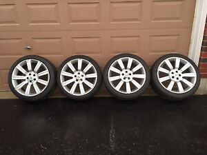 "22"" Range Rover Land Rover Stormer Wheels 4 Lock Nuts Too"