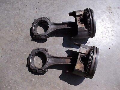 2 Tractor Engine Motor Piston Rings Rod 4.221 4.225