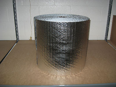 316 Double Foil Bubble Insulation Reflective Wrap - 16 X 125