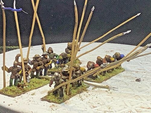 15mm Handpainted Renaissance Pikemen (16 Figs)