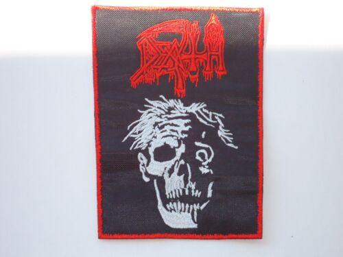 DEATH ZOMBIE EMBROIDERED PATCH