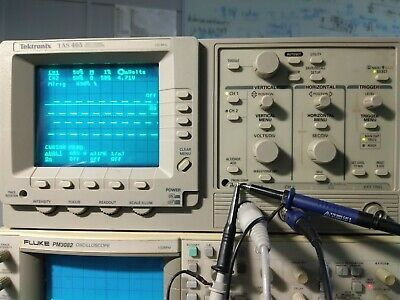 Tektronix Tas 465 Two Channel Oscilloscope 100mhz