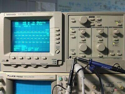 Tektronix Tas 465 Two Channel Oscilloscope 100mhz