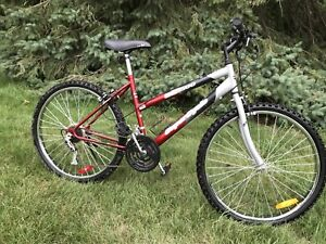 """Mountain bike - 26"""" rims, 18 speed new tires rides great"""