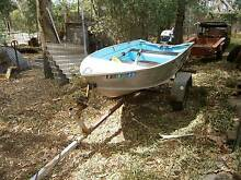 Dinghy 10ft aluminium licensed with trailer Perth Region Preview