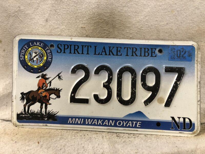 February 2017 Spirit Lake Tribe License Plate