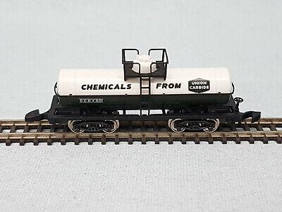 """8676 Märklin Spur Z, mini club Kesselwagen,, ""Chemicals From Union Carbide """