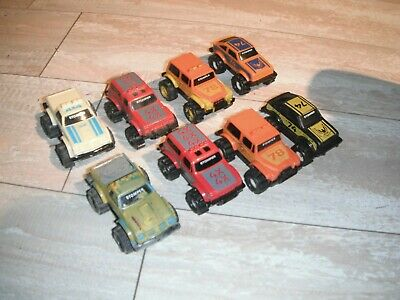 Vintage Schaper Stomper Mcdonalds 4x4 Trucks Lot of 8 Unpowered