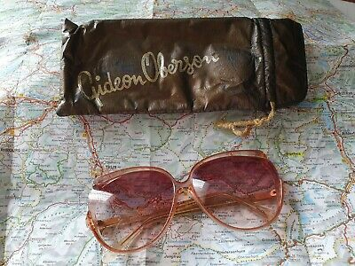 Vintage Scarce Gideon Oberson Pink/Purple/translucent Two - A Sunglasses