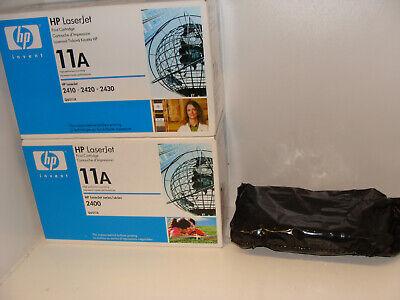 3 X Hp Laserjet (3 x Original HP11A Q6511A Toner Laserjet 2410 2420 2430 Posten Konvolut MwSt)