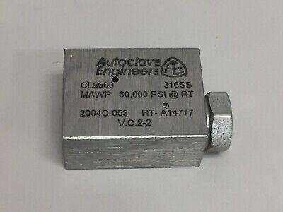 Autoclave Engineers Cl6600 Elbow Fitting - 60000 Psi