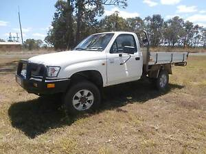 2004 TOYOTA HILUX 4 X 4 SINGLE CAB UTE Gin Gin Bundaberg Surrounds Preview